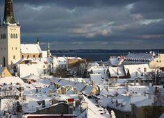 Tallinn, Estonia by © asalmina via westeastsouthnorth
