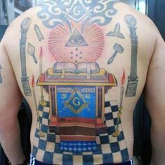 Tap into an ancient secret society with the top 90 best Masonic tattoos for men. Explore cool Freemasonry ink designs with mysterious symbols. Freemason Tattoo, Masonic Tattoos, Symbol Tattoos, Fake Tattoos, Tattoos For Guys, Masonic Art, Masonic Symbols, All Seeing Eye Tattoo, Sword Tattoo