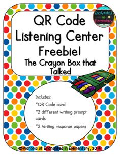 QR Code Listening Center: The Crayon Box that Talked from Enchanted in…