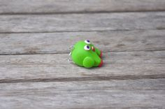 Nathan Monster Polymer Clay Single Earring by AmigurumiByAli, $11.50