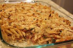 Chicken, Zucchini and Pasta Bake