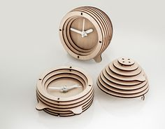 """Check out new work on my @Behance portfolio: """"BeeHiveClock"""" http://on.be.net/1MdY3sl"""
