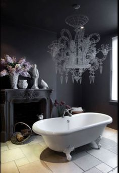 Bathroom; http://www.independent.co.uk/property/interiors/leap-in-the-dark-bright-and-breezy-was-never-going-to-do-it-for-the-designer-abigail-ahern-8607905.html?action=gallery