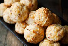 chanterelle gruyere puffs recipe   use real butter