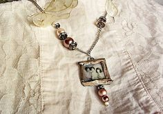 Shabby gift custom photo jewelry personalized picture