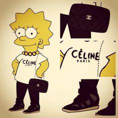 #lisasimpson #celine bag #thesimpsons