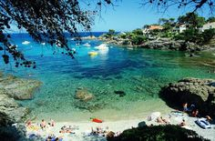 beaches in south france