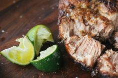 Featuring a marinade inspired by Cuban-style mojo, this tender pork is smoky and full of flavor. Serve it with rice and beans or a piled-high Cuban sandwich.