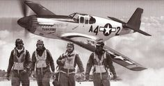 Then go see the film Red Tails. It's a stylized account of the exploits of the Tuskegee Airmen and there are lots or and M. Fighter Pilot, Fighter Jets, Film Red, Tuskegee Airmen, P51 Mustang, Nose Art, African American History, North Africa, World War Ii