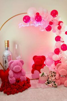 You are going to love this romantic bridal shower! Love the party decor! See more party ideas and share yours at CatchMyParty.com #catchmyparty #partyideas #bridalshower #valentinesday #love Bridal Shower Photos, Bridal Shower Cakes, Bridal Shower Party, Wedding Shower Drinks, Drunk In Love, Jungle Party, Valentines Day Party, Valentine Decorations, Animal Party