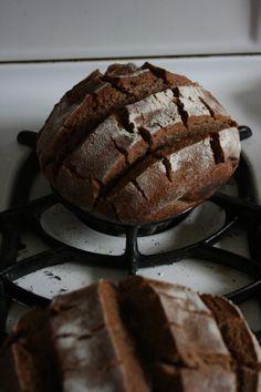 Elf bread recipe - the slow kind of bread we love. Needs sour dough starter   from cauldronsandcrockpots.com