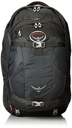 Osprey Farpoint 55 Travel Backpack, Charcoal Gray, Small/Medium