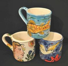 Growing up in a traditional Latin American village has been a determining influence on Vancouver, BC artist José Ventura's diverse bodies of work. American Village, Vancouver, 3 D, Cups, Ceramics, Artist, Artwork, Painting, Ceramica