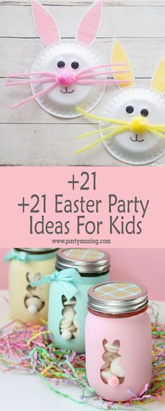 +21 Easter Party Decor Ideas and Crafts for your Egg Hunting Party Eggs, Rabbits and Spring; Easter is almost here! Spring is approaching and with it comes a very special date, it's time to hide the eggs in the garden, invite the children and celebrate a wonderful date in the company of friends people close to our heart. Are you preparing an Egg Hunting this year?