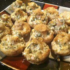 Roasted Garlic Mushrooms Recipe   Just A Pinch Recipes