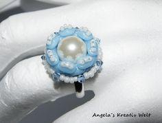 JanuarKristall Ring von Angela`s Kreativ Welt auf DaWanda.com