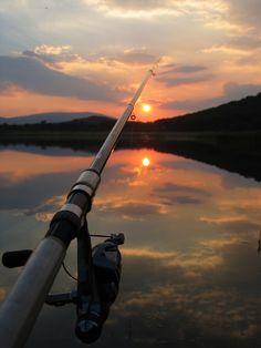 Hoy es un día que me gustaría estar pescando