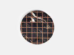 Other Kingdom - Grid Platter - Marble Inlay Serving Platter