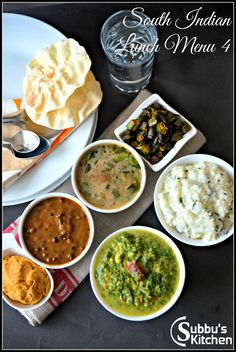 South Indian Lunch Menu 4