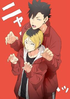 Find images and videos about anime, haikyuu and nekoma on We Heart It - the app to get lost in what you love. Kenma Kozume, Haikyuu Nekoma, Haikyuu Fanart, Kuroken, Haikyuu Ships, Kagehina, Karasuno, Haikyuu Anime, Manga Anime
