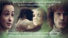 Jenny and Jamie Fraser - Honor