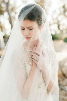 Wedding veil | Ethereal bride | Photography by Whiskers and Willow Photography