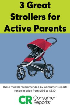 Parents these days don't let a baby slow them down. Equipping themselves with a versatile stroller is part of the equation. Consumer Reports recently tested a batch of new strollers, three of which we're recommending for parents on the go, whether that's traveling through the sidewalks of New York, jogging in the park, a weekend walk in a nature preserve—or all three.