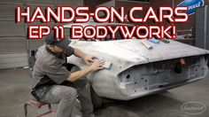 How To Bodywork A Car & Spray Primer-Surfacer on Hands-On Cars 11 - Get It Straight - from Eastwood Car Paint Repair, Car Repair, Auto Body Work, Small Luxury Cars, Car Restoration, Mustang Restoration, Auto Body Repair, Car Painting, Painting Tricks