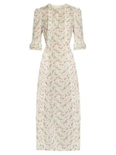 Cate cotton midi dress | The Vampire's Wife | MATCHESFASHION.COM US