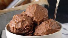 Paleo Chocolate Almond Butter Ice Cream