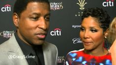 Exclusive Interview with Toni Braxton and Babyface at the Christmas Tree...