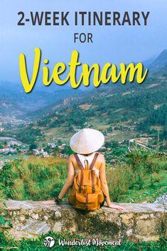 A Kick-Ass 2-Week Vietnam Backpacking Itinerary   Wanderlust Movement   #vietnam #backpacking #solotravel #solofemaletravel #southeastasia #budgettravel