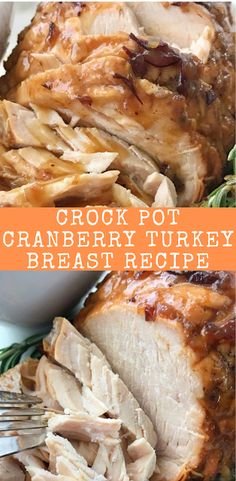Crock Pot Cranberry Turkey Breast Recipe Crock Pot Cranberry Turkey Breast Recipe by togetherasfamily, Turkey recipe that gets cooked right in the crock pot with minimal ingredients. Get this Amazing Turkey Crockpot Recipes, Cooking Recipes, Healthy Recipes, Turkey Pot Roast Recipe, Crock Pot Turkey, Healthy Food, Crockpot Ideas, Crockpot Dishes, Clean Recipes
