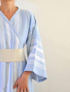 Bathrobe Peshtemal Robe Kimono Robe Eco by ecofriendlybeauty, $60.00