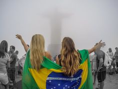 Foggy day at Christ the Redeemer