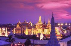 Sunset, Wat Muang, Thailand (© Kevin R. Morris/Corbis) http://local.msn.com/best-sunsets-around-the-globe