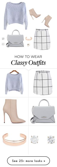 """""""Classy Chic"""" by haleykthomas on Polyvore featuring Akira Black Label, Leith and Givenchy"""