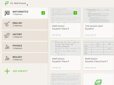 Evernote use to organize notes and study test materials