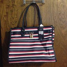 Tommy Hilfiger Bag Cute Tommy Hilfiger Bag in Red, White, and Blue stripes. Tommy Hilfiger Bags Shoulder Bags