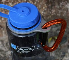 A simple and durable water bottle holder for Nalgene style water bottles. The Full Nelson is great for anything related to the outdoors. I use mine every day at work and at play.