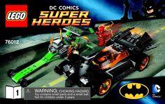 DC Comics Super Heros - Batman: The Riddler Chase [Lego 76012]