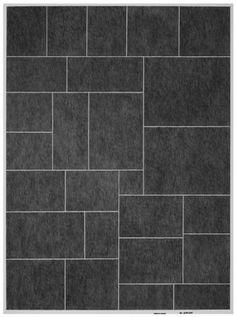 Various size tile composition. www.flooringdirectree.com
