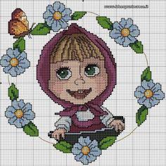 Нашла немного картинок(схемок) для детишек / Вязание спицами / Вязание спицами для детей