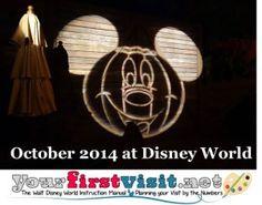 October 2015 at Walt Disney World from yourfirstvisit.net Disney World 2015, Disney World Vacation, Disney Vacations, Disney Trips, Disney Halloween, Scary Halloween, Disney Countdown, October 2014, Disneybound