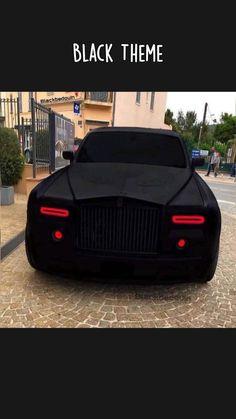 Luxury Cars Black Theme