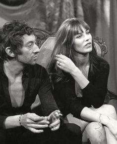 Serge Gainsbourg and Jane Birkin                                                                                                                                                                                 Plus