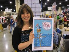 Kate Beaton, author of webcomic Hark! a Vagrant