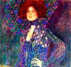 Art Nouveau Illustration, Gustav Klimt, My Heart Is Breaking, Jewel Tones, Painting, Inspiration, Seeds, Biblical Inspiration, Painting Art