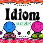 Idiom Puzzles  **Match the meaning to the idiom picture and saying.    This is fun way to practice idioms which can be a hard concept for some stud...