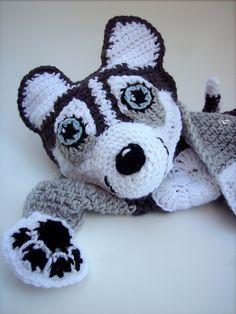 Ravelry: Husky Blankie pattern by Jenna Wingate